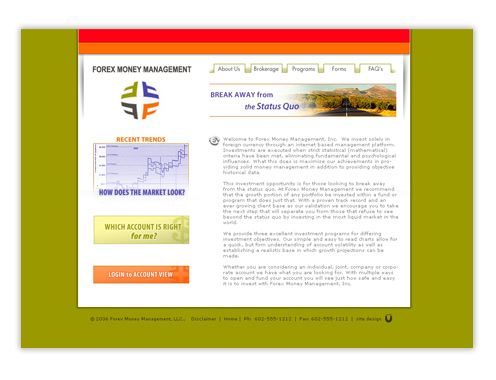 Global investment management forex
